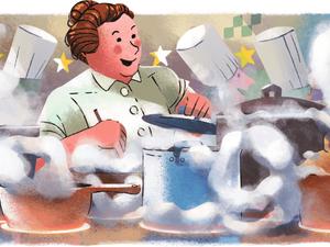 Αφιερωμένο στην Γαλλίδα σεφ Eugenie Brazier είναι το σημερινό doodle της Google