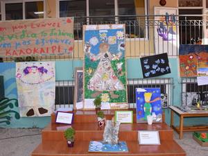 Εθελοντική δωρεά έργων του 15ου Νηπιαγωγείου Πατρών σε ιδρύματα της πόλης (φωτο)