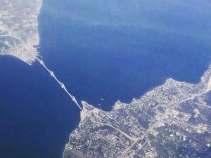 Το μεγαλείο της Γέφυρας Ρίου - Αντιρρίου κλεισμένο σε μια αεροφωτογραφία