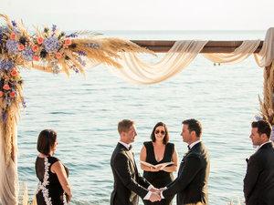 Γκέι γάμος στο Βόλο με θέα τον Παγασητικό (φωτο)