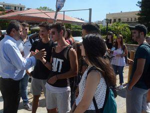 Πάτρα: Η Δημοτική Αρχή έδωσε το παρών στην κινητοποίηση των εκπαιδευτικών
