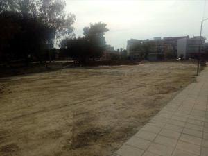 Πάτρα - Διαμορφώνεται η πλατεία στο κάτω μέρος του Ι.Ν. Παναγίας Αλεξιώτισσας (φωτο)
