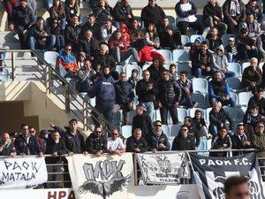 'Στοπ' στη μετακίνηση των οπαδών του ΠΑΟΚ στη Λαμία