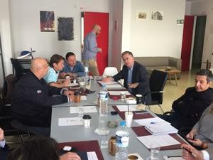Πάτρα: Ο Γιώργος Μαυραγάνης συζήτησε ζητήματα που απασχολούν τις επιχειρήσεις εστίασης