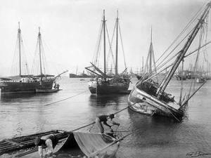 Στο λιμάνι της Πάτρας το 1907!