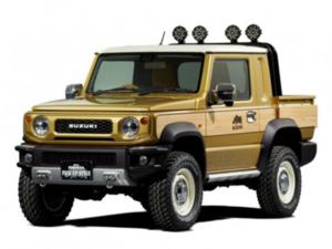 Η Suzuki θα παρουσιάσει ένα πικάπ Jimny