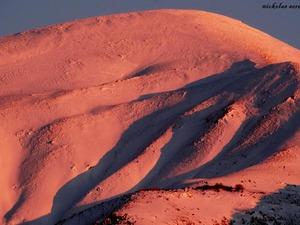 Όταν το χιόνι στις κορυφές του Παναχαϊκού γίνεται 'χρυσαφί' (pics)