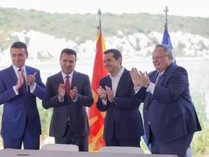 Ξεκινά η εφαρμογή της Συμφωνίας των Πρεσπών