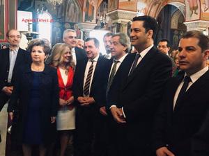 Αγρίνιο: Παρών στη Δοξολογία ο Δήμαρχος Αθηναίων, Γιώργος Καμίνης (φωτο)