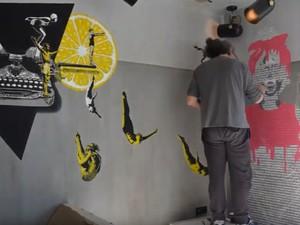 Οι υπέροχες τοιχογραφίες του Kle στο Moxy Patras Marina (vids)