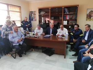 Συνεδρίαση του ΣΟΠΠ στην Ανδραβίδα παρουσία του Απόστολου Κατσιφάρα και του Ευθύμιου Λέκκα