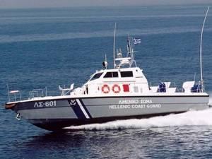Μηχανική βλάβη σκάφους στο Μεσολόγγι