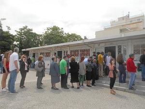 Βόλτα σε κεντρικά εκλογικά τμήματα της Πάτρας (φωτο)