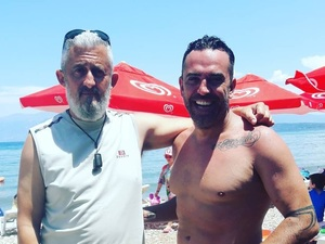 Ο Στέφανος Κωνσταντινίδης από τα πλατό του Star στη Λακκόπετρα!