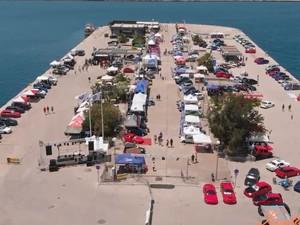 Το 9o Patras Motor Show από ψηλά ήταν εξίσου εντυπωσιακό (video)
