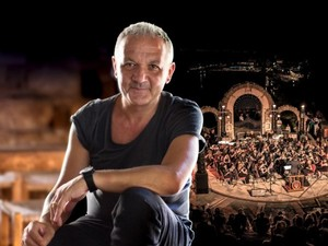 Ο Χρήστος Θηβαίος συμπράττει με τη Φιλαρμονική Ορχήστρα Λουτρακίου στο Ρωμαϊκό Ωδείο Πάτρας!