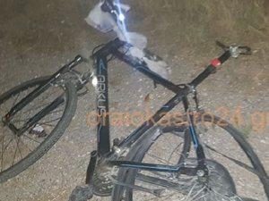 Ποδηλάτης παρασύρθηκε από αυτοκίνητο στη Θεσσαλονίκη