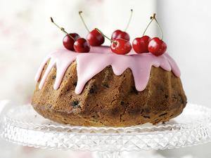 Κέικ κεράσι με στέβια