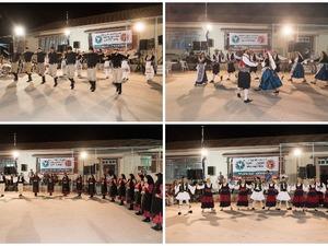 Kέφι, χορός και μουσική 'πλημμύρισαν' το 1ο Αντάμωμα Χορευτικών Συγκροτημάτων στο Λιμνοχώρι Αχαΐας (pics)