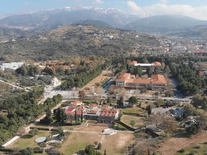 Drone κατέγραψε από ψηλά, το Πανεπιστήμιο Πατρών (video)