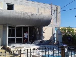 Πάτρα: Ανατίναξαν ΑΤΜ στο Σταυροπούλειο Βραχνεΐκων (φωτο)