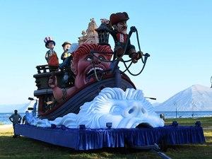 Πάτρα: Το Καρναβάλι 'μεταφέρθηκε' στο Νότιο Πάρκο (φωτο)