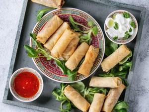 Φτιάξτε μόνοι σας spring rolls!