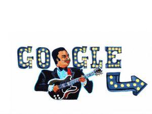 Αφιερωμένο στον Αμερικανό μπλουζ κιθαρίστα και τραγουδοποιό B.B. King είναι το σημερινό doodle της Google