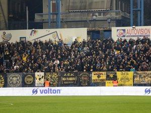 AEK: Ανατροπή για Αγρίνιο, με κόσμο κόντρα στον Παναιτωλικό