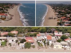 Σπιάντζα Ηλείας - Εκεί που τα σπίτια... χτίστηκαν επάνω στο κύμα (video)