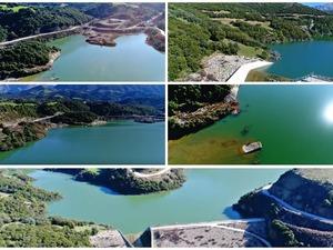 'Πετώντας' πάνω από τη λίμνη Βελιμαχίου (video)