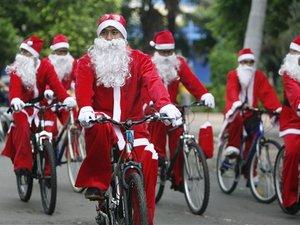 Παραμονές Χριστουγέννων, η Πάτρα θα γεμίσει από... ποδηλατάδες Άι Βασίληδες!
