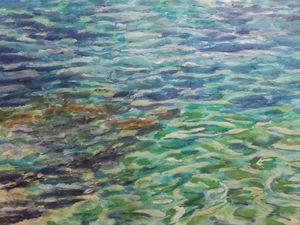 Πάτρα - Η Μαίρη Σιδηρά για την έκθεση 'Το μπλε της θάλασσας και τ'ουρανού'