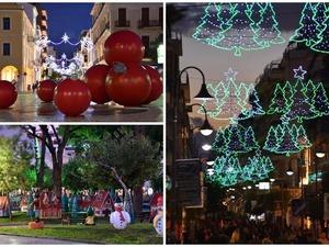 Η Πάτρα 'ντύθηκε' για τα Χριστούγεννα - Βόλτα στους γιορτινούς δρόμους της πόλης (φωτο)
