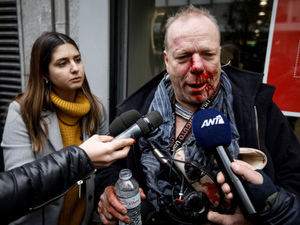 Ακροδεξιοί ξυλοκόπησαν στο Σύνταγμα δημοσιογράφο της Deutsche Welle