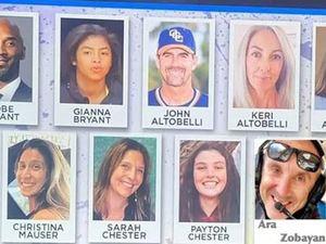 Kobe Bryant: Ταυτοποιήθηκαν τα εννέα θύματα από την πτώση του ελικοπτέρου