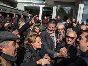 O Aλέξης Τσίπρας συνεχίζει την περιοδεία του στην Ηλεία (φωτο)
