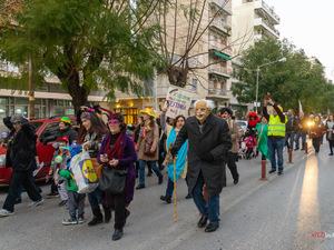 Πάτρα: Αποκριάτικη ποδαράτη περαντζάδα από την Κίνηση 'Πρόταση'