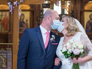 Γάμος, εν μέσω πανδημίας, στο Αγρίνιο! (φωτο)