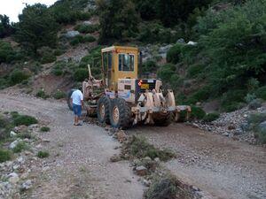 Πάτρα - Επισκευή και συντήρηση του ορεινού επαρχιακού δρόμου (φωτο)