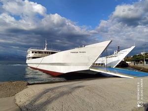 Πλησιάζει η επανέναρξη της πορθμειακής γραμμής Αίγιο - Άγιος Νικόλαος