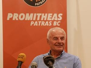 Ανεβάζει τον πήχη ο Προμηθέας Πατρών - Νέος πρόεδρος της ΚΑΕ ο Κώστας Μπακαλάρος