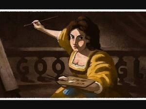 Αρτεμίζια Τζεντιλέσκι: H Google τιμά με doodle τη θαρραλέα Ιταλίδα ζωγράφο