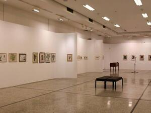 Πάτρα - Δεύτερη ξενάγηση στην έκθεση σχεδίων και χαρακτικών της Ζιζής Μακρή (φωτο)