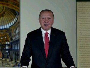 Διάγγελμα Ερντογάν: Στις 24 Ιουλίου θα γίνει προσευχή στην Αγιά Σοφιά