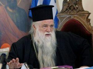 Αμβρόσιος σε πιστούς: «Μη φοράτε τη μάσκα στους ναούς - Είναι τέχνασμα του διαβόλου»