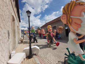 Τα Παλαιά Σφαγεία της Πάτρας, παίρνουν 'χρώμα' Καρναβαλιού (φωτο)