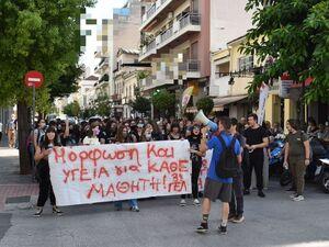 Πελετίδης προς μαθητές: 'Στον αγώνα που κάνετε δεν είστε μόνοι σας'