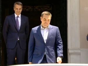 Δημοσκόπηση GPO: Επικράτηση Μητσοτάκη έναντι Τσίπρα στη ΔΕΘ