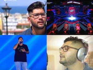 The Voice: Συγκίνησε με την ιστορία του ο Πατρινός Νικόλας Μουρτζάπης (video)